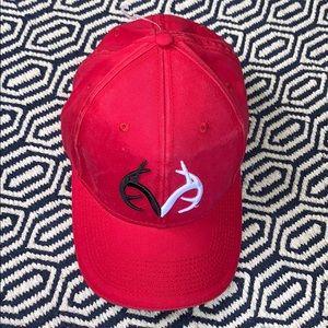 NWTs REALTREE • Red Slide Baseball Hat Cap